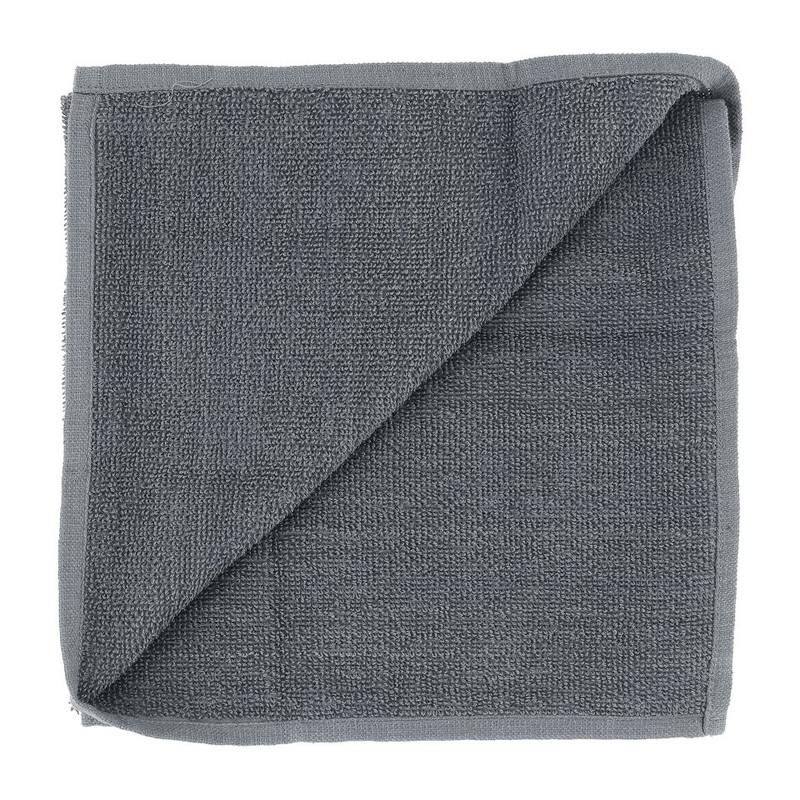 Keukendoek uni - 50x50 cm - grijs