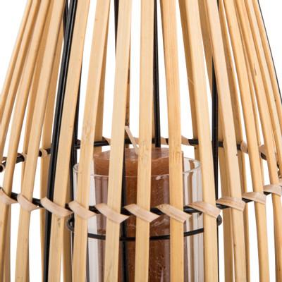Bamboe lantaarn - 18x31 cm