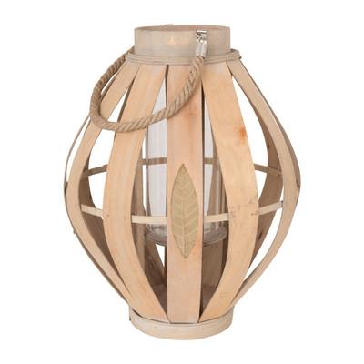 Lantaarn bamboe - 36x36 cm