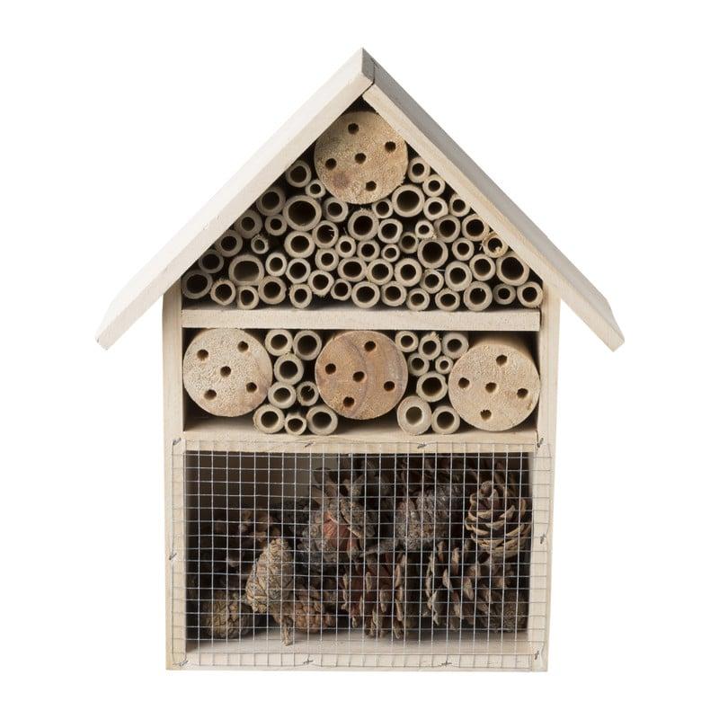 Insectenhotel - hout - 25x10x30cm