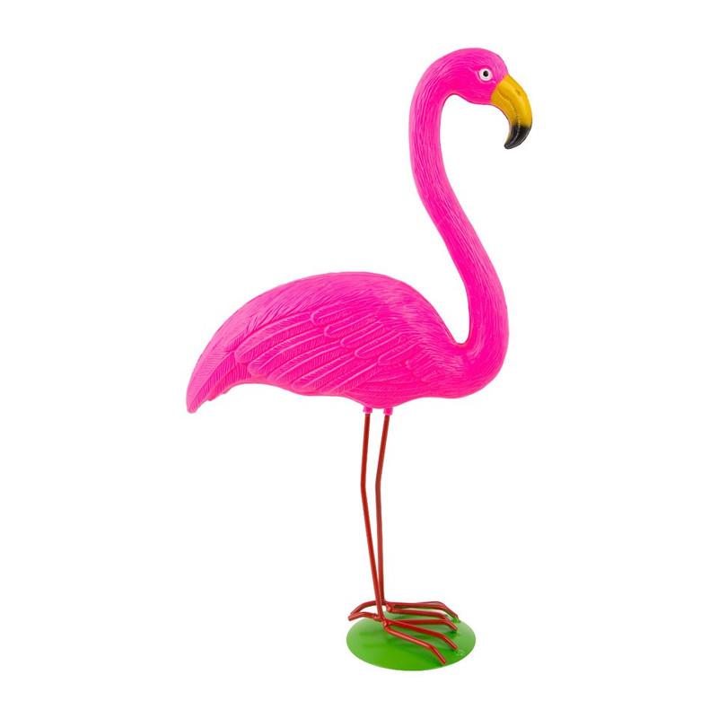 Tuinflamingo - roze - 51 cm