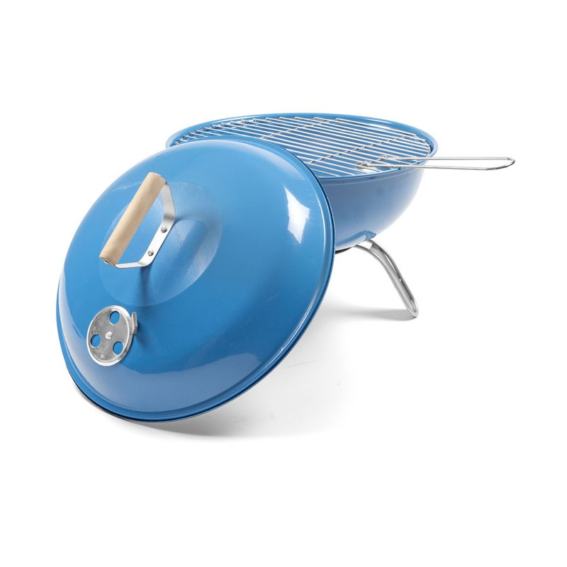 BBQ ronde bol - blauw