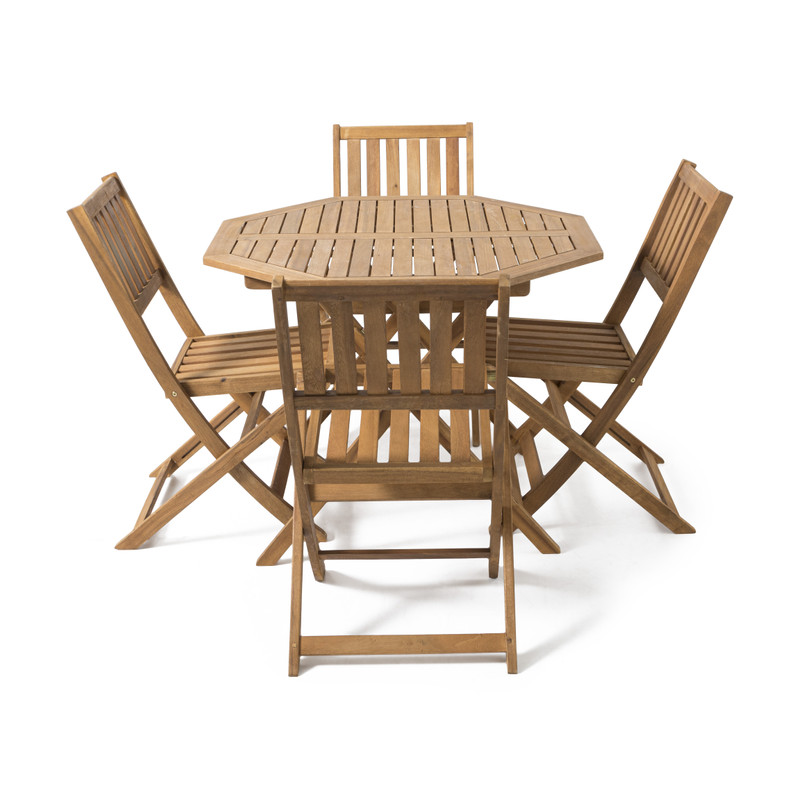 Kreta tuinset met 4 stoelen