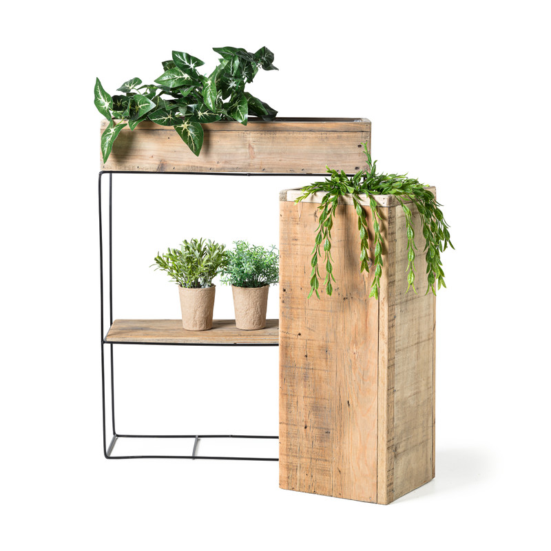 Plantenkistje vierkant - 27x27x20 cm
