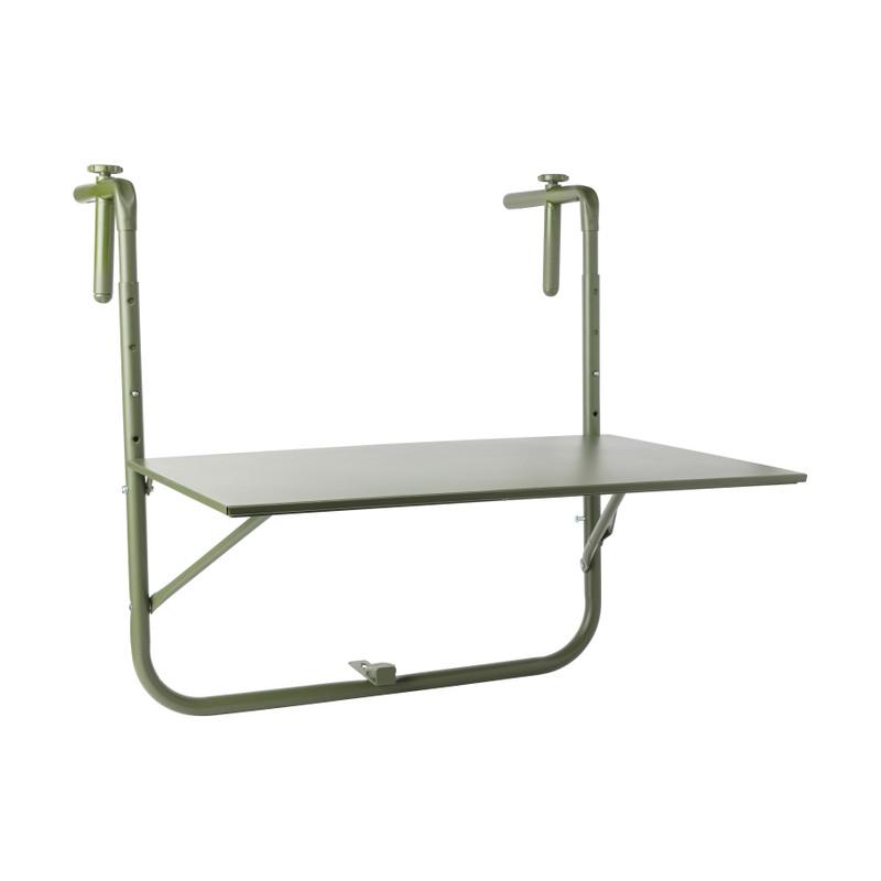 Hangtafeltje voor balkon - groen - 60x40 cm