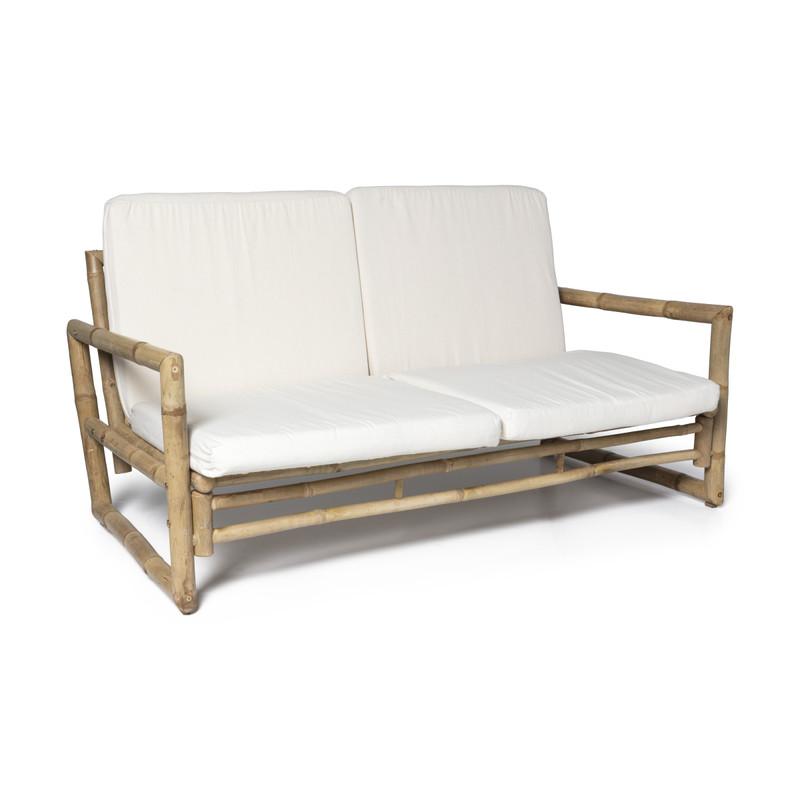 Bamboe bank 2-zits - 150x75x70 cm