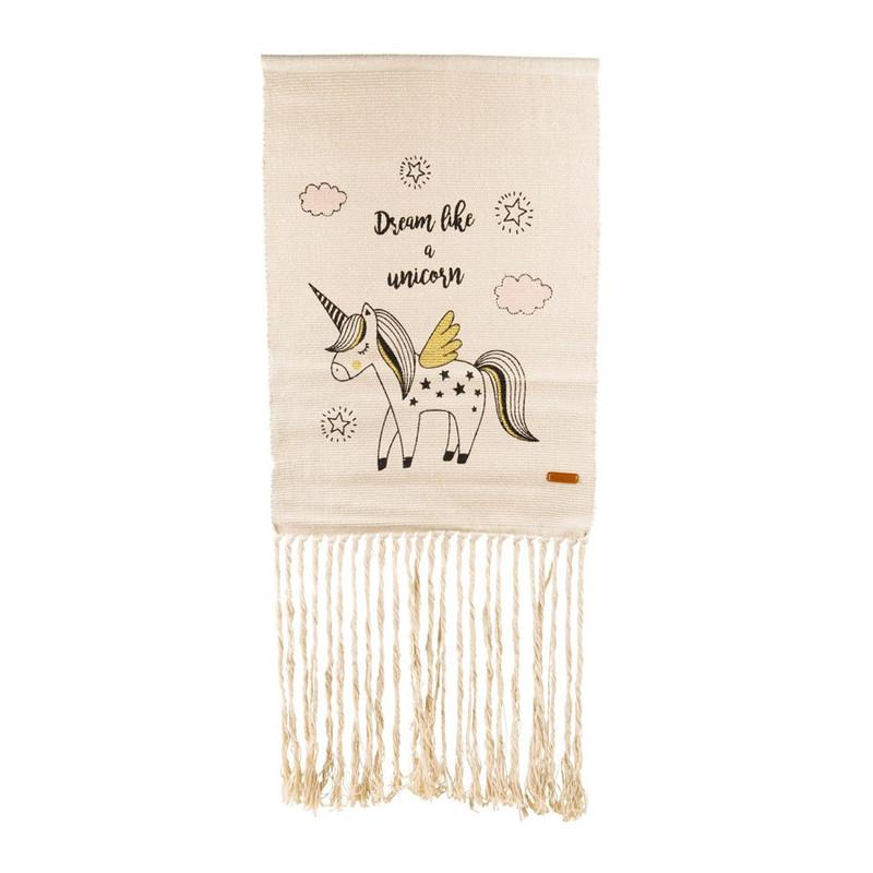 Wandkleedje unicorn - 50x70 cm