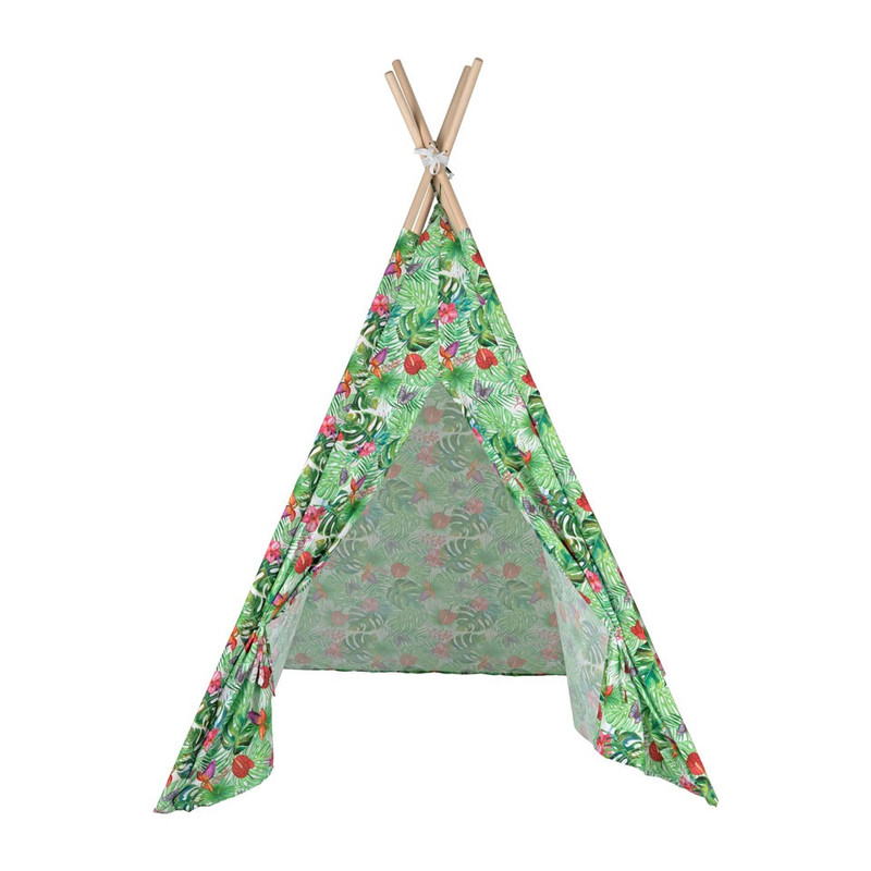 Tipi speeltent - jungle - 120x120x160 cm