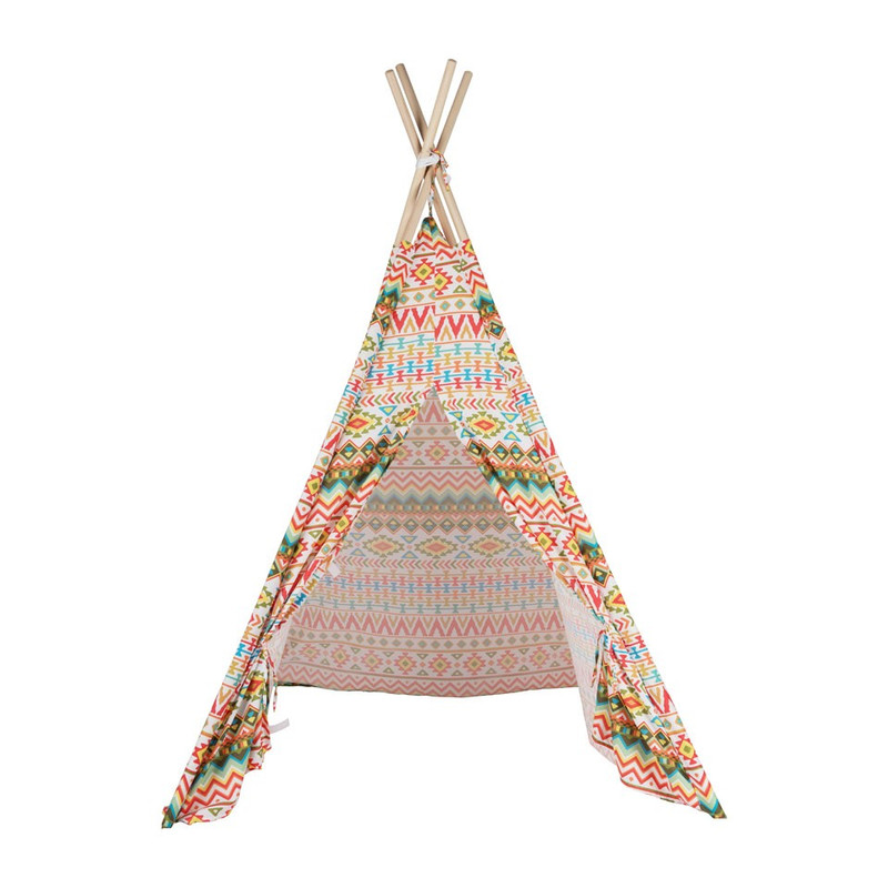 Tipi speeltent - Indian - 120x120x160 cm