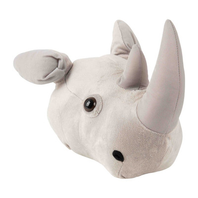 Dierenkop neushoorn - 25x48x12 cm