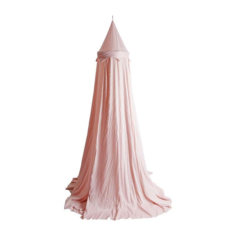 Klamboesluier balkadijn - diameter 40 cm - roze