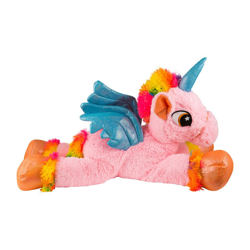 Pluche unicorn XL - roze