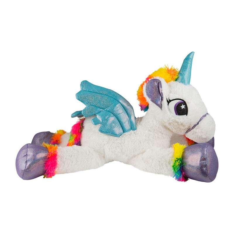 Pluche unicorn XL - wit