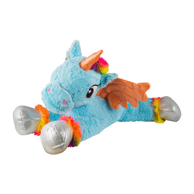 Pluche Unicorn Xl Blauw Xenos