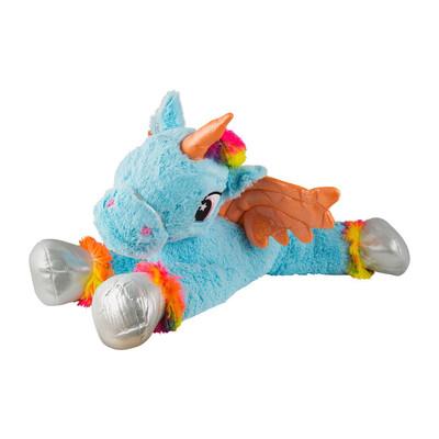 Pluche unicorn XL - blauw