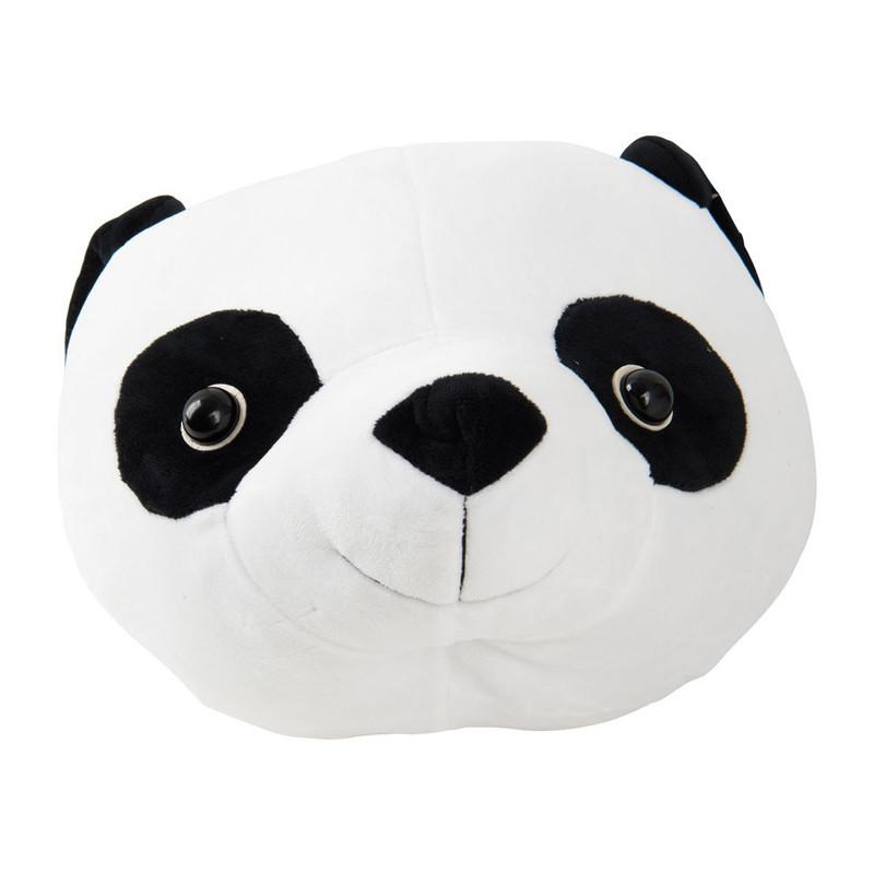 Dierenkop panda - 25x25x30 cm
