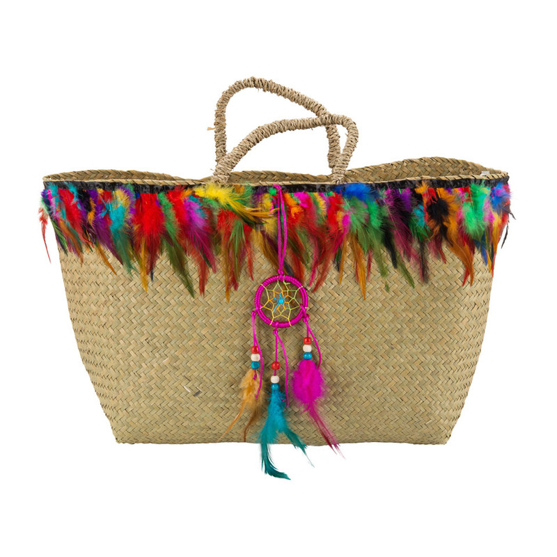 Strandtas Bohemian - colourful