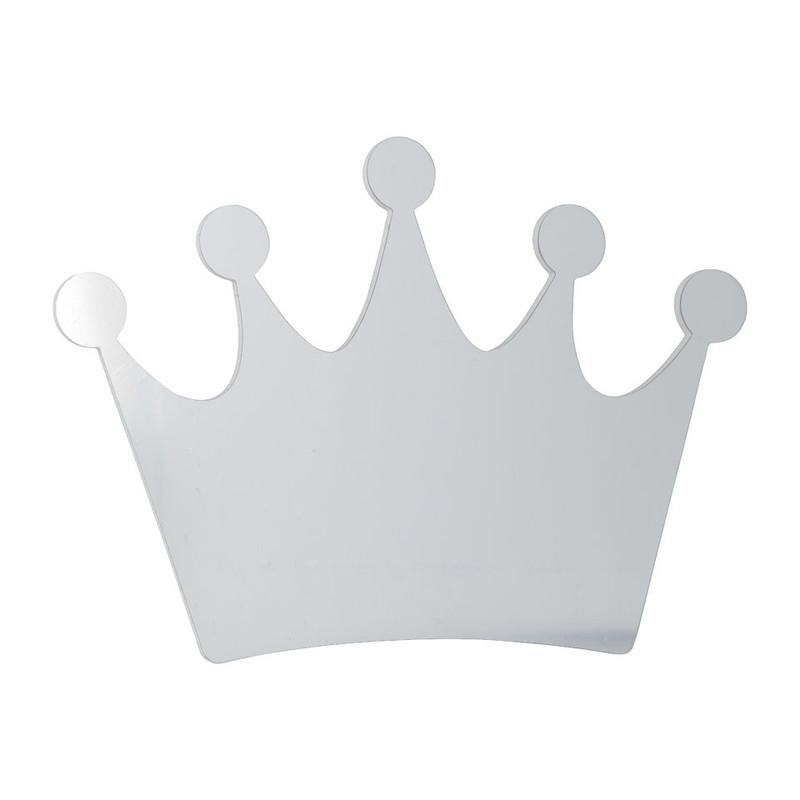 Kinderspiegel - kroon - 40x27 cm