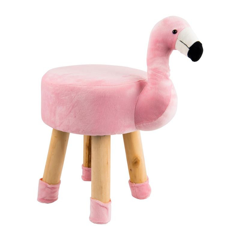 Dierenkrukje flamingo - 28x34 cm - roze