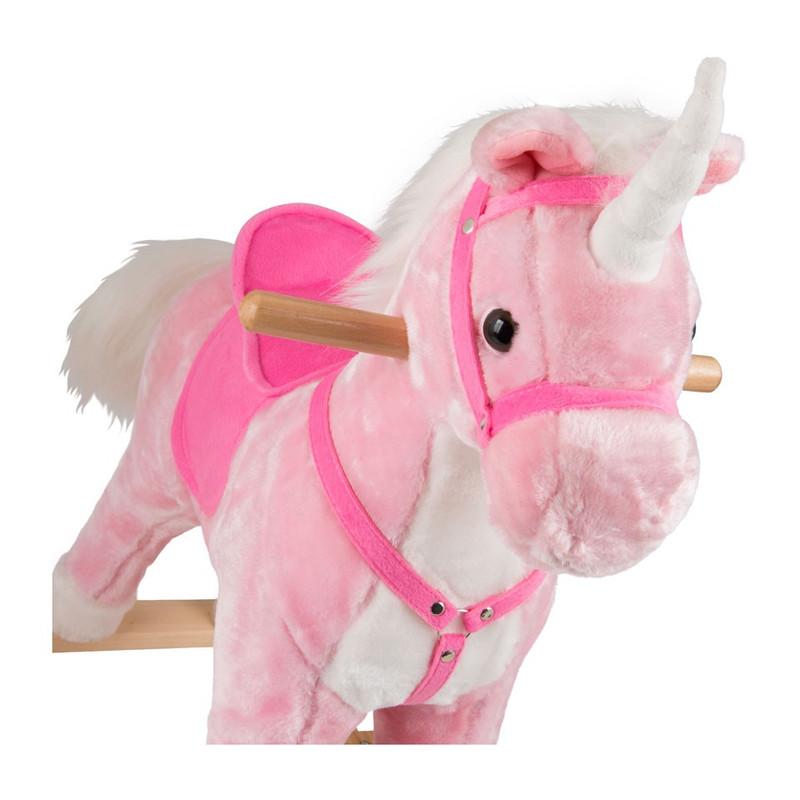 Hobbelpaard unicorn