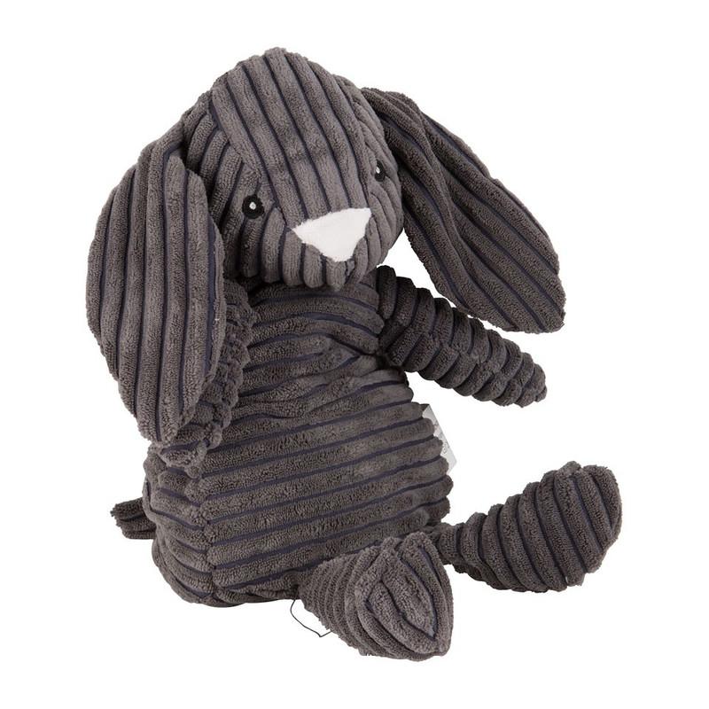 Warmteknuffel konijn - ribstof