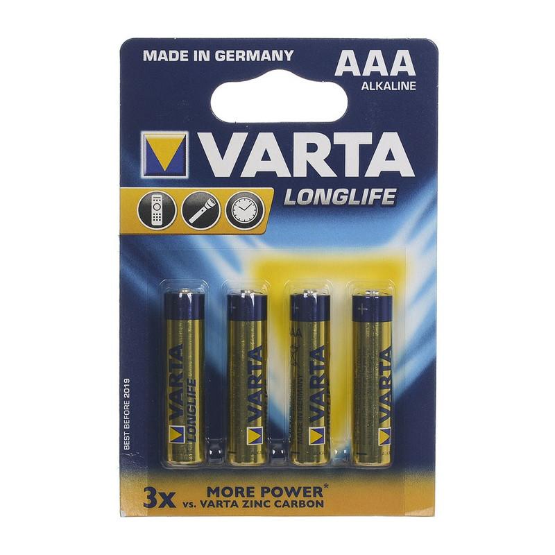 Varta Micro batterijen - AAA - set van 4