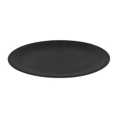 Bord bamboe - mat zwart