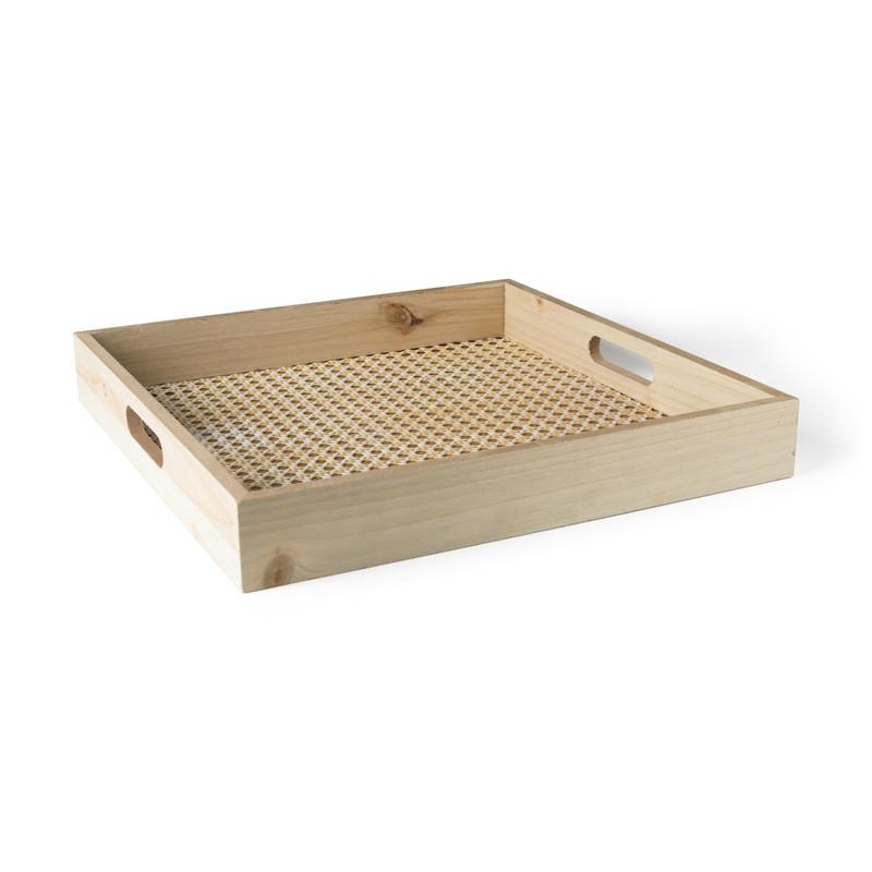 Dienblad webbing - vierkant - 35x35 cm