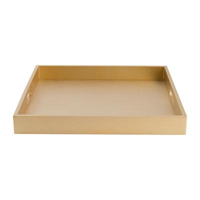 Dienblad goud - 35x35 cm