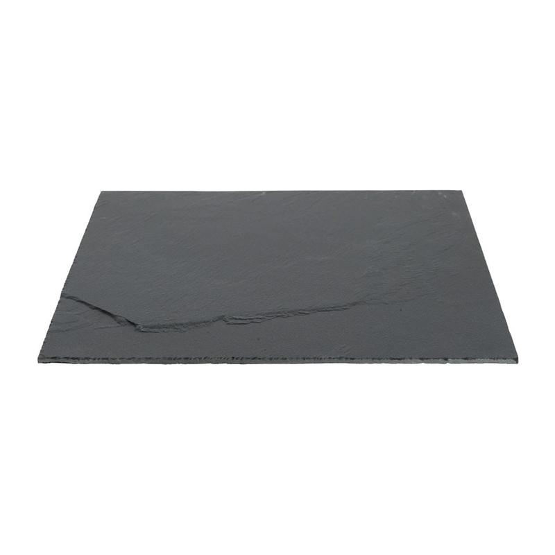 Serveerplateau leisteen - 25x25 cm
