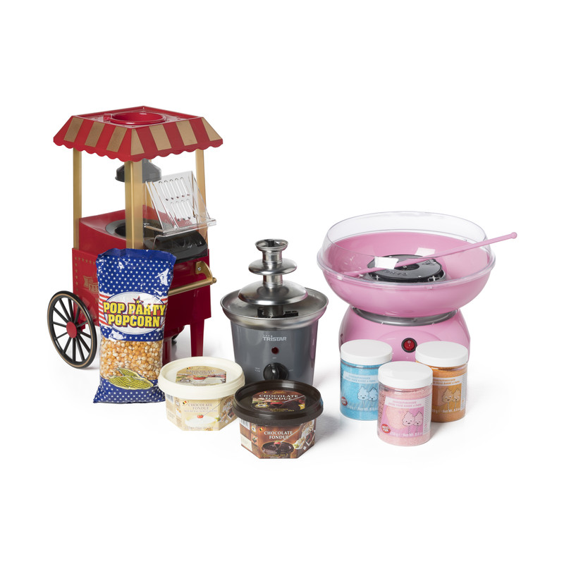 Suikerspinmachine - roze