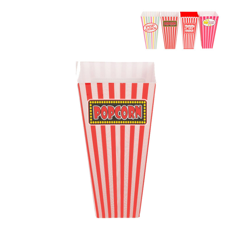 Popcornbak - diverse varianten -1 liter