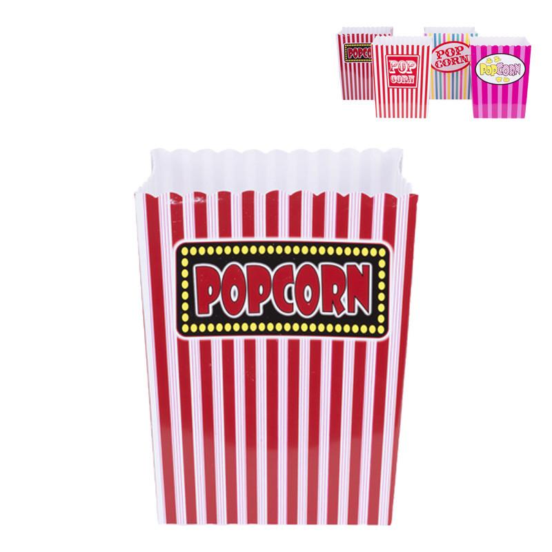 Popcornbak XL - diverse varianten - 7 liter