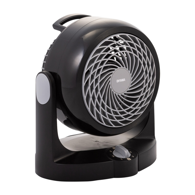 IRIS Ventilator Woozoo zwart 15 cm