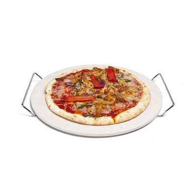 Pizzasteen met houder