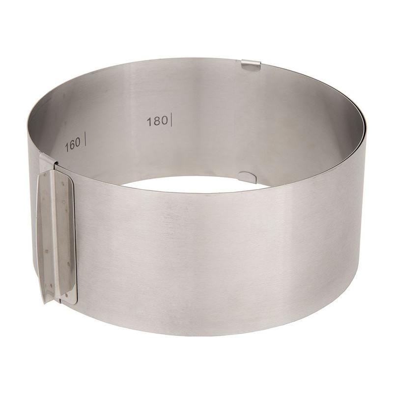 Taartring verstelbaar - 16-30 cm