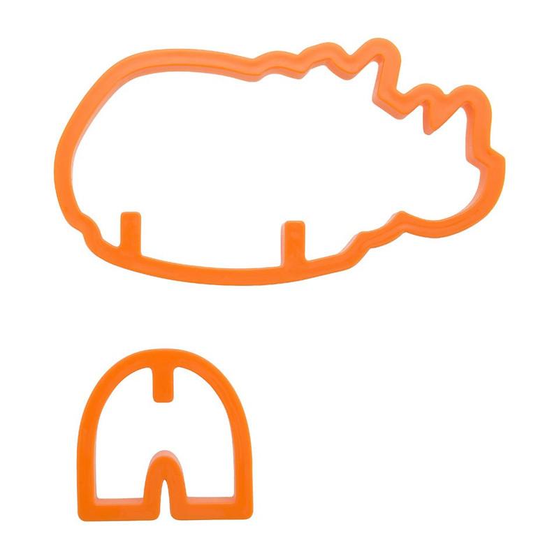Uitsteekvorm 3D - neushoorn