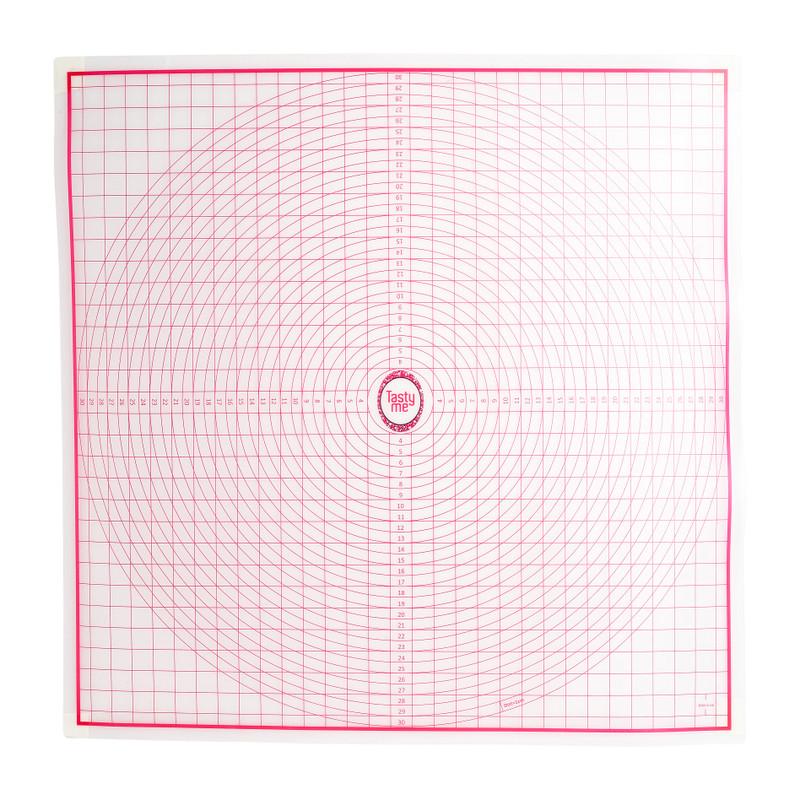 Non-stick uitrolmat - 60x60 cm