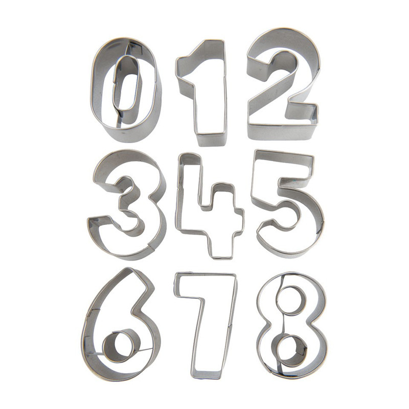 Uitsteekvormpjes cijfers