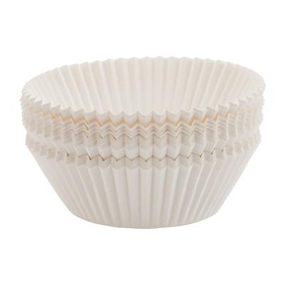 Cupcakevormpjes - set van 100 - wit