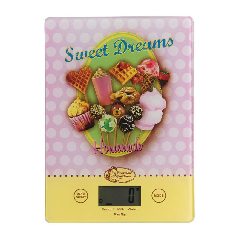 Digitale keukenweegschaal - Sweet dreams