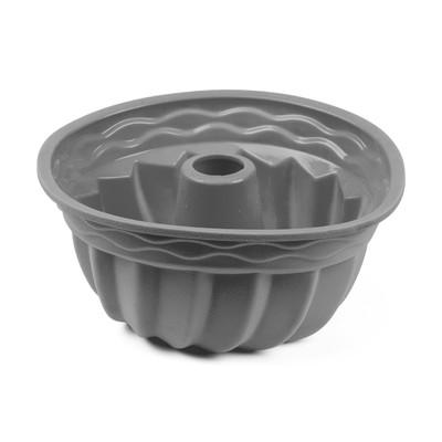 Tulbandvorm siliconen - grijs - 24 cm