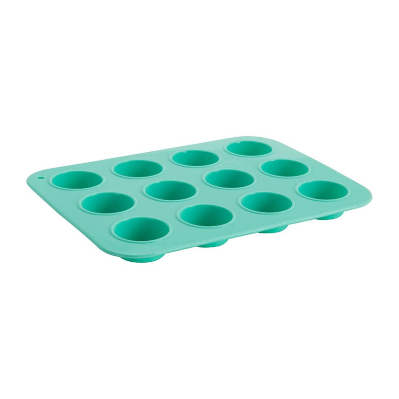 Mini cupcakevorm - siliconen - 23x18 cm