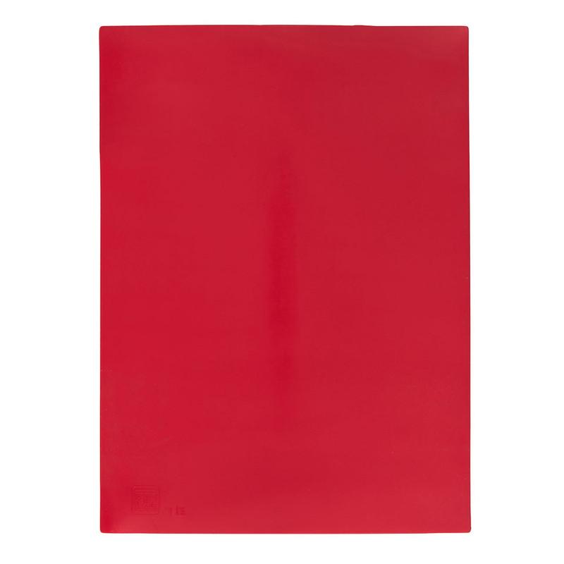 Bakmat siliconen - rood - 39.5x30 cm