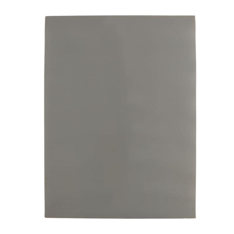 Bakmat siliconen - grijs - 39.5x30 cm