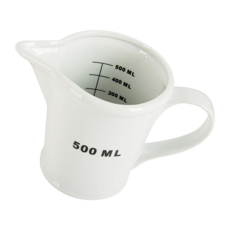 Maatbeker porselein - 500 ml