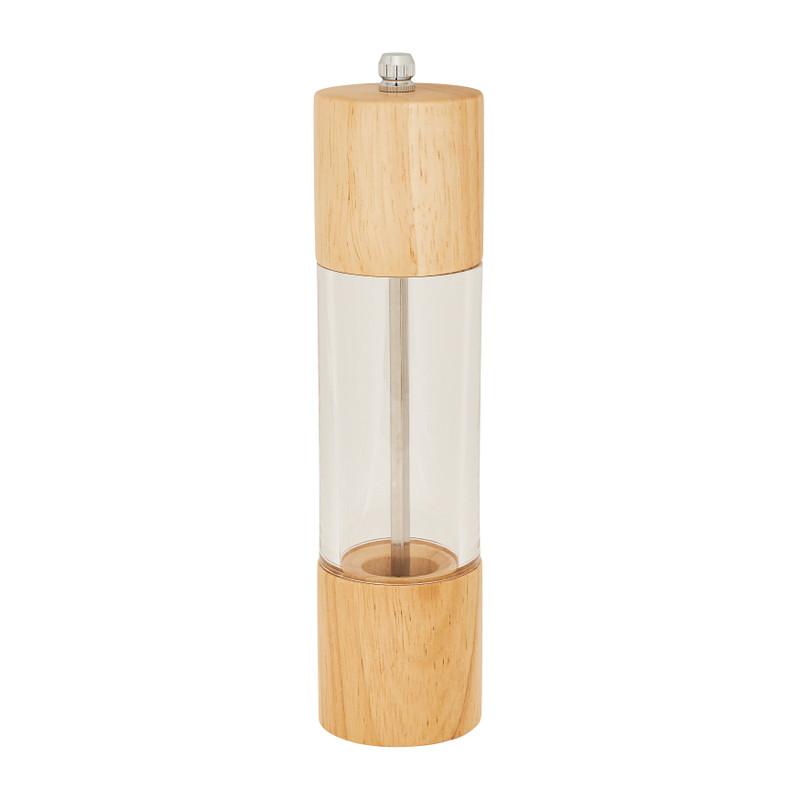 Peper- en zoutmolen - bamboe - ø5,5x21 cm cm