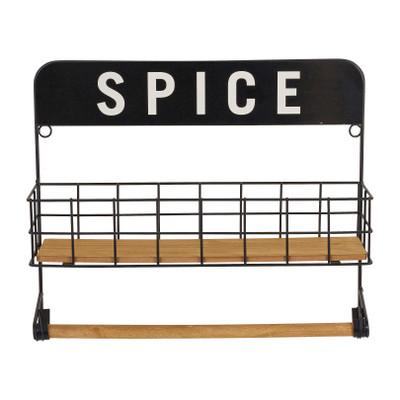 Keukenrekje spice - 35x10x30 cm