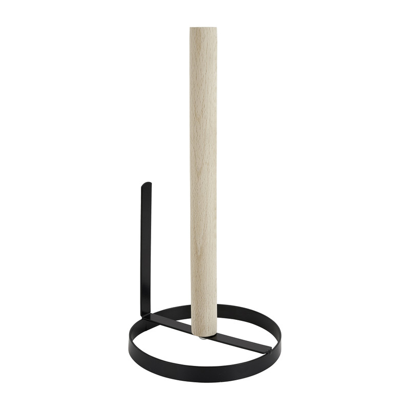 Keukenrolhouder metaal ø13x27 cm
