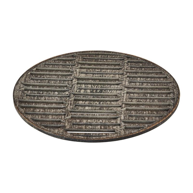 Onderzetter hout grafisch - 18 cm